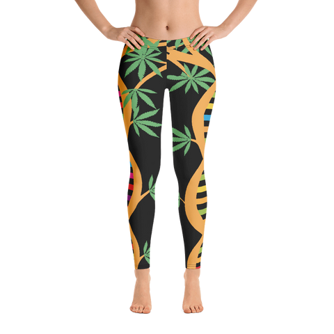 "Dabblicious ""DNA Tree"" Leggings"
