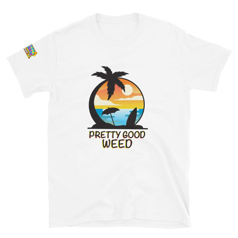 "Pretty Good Weed ""Original Logo"" T-Shirt"