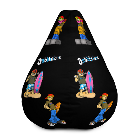 "Dabblicious ""Larry and Pat"" Bean Bag Chair w/ filling"