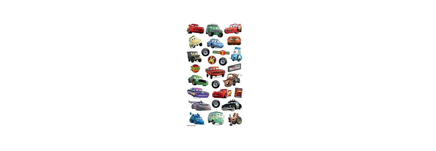 Get Revved Up with Disney Cars Stickers!