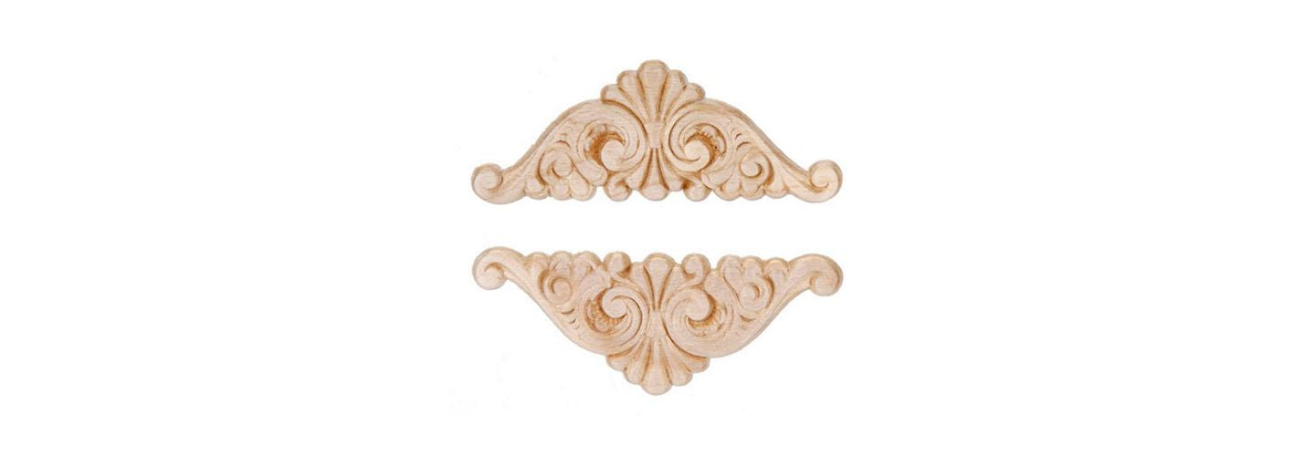 Enhance Your Project with this Fan Shape Wood Applique (Darice AW31624)