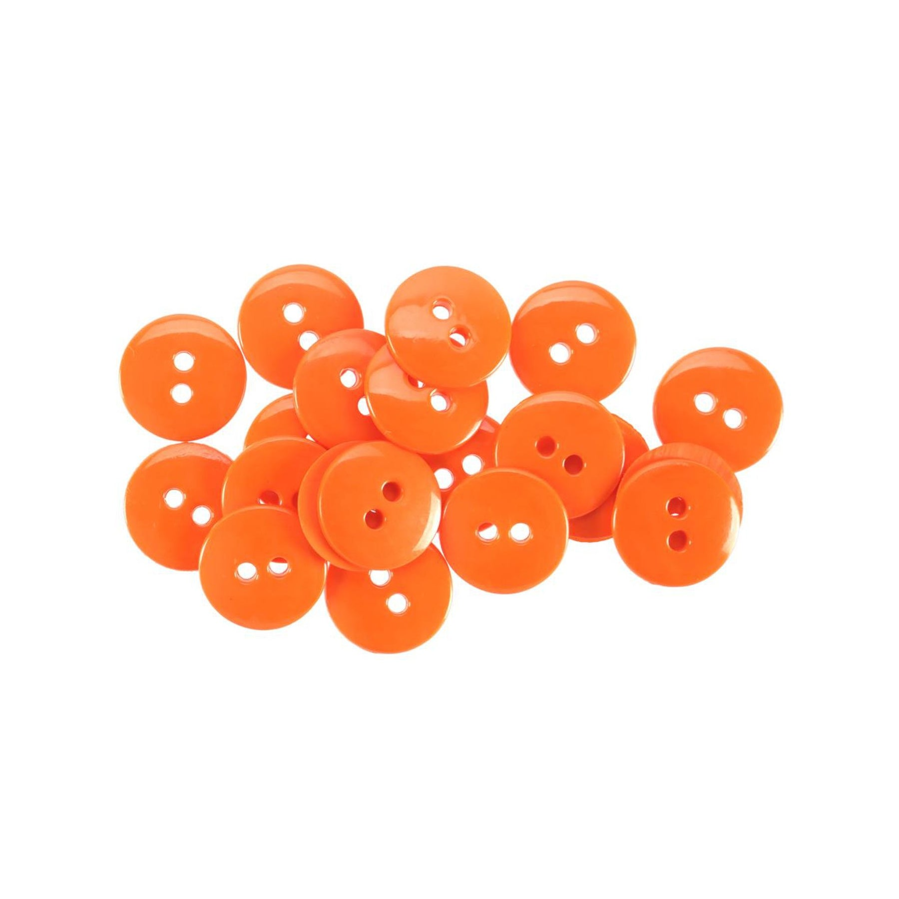 New - Cute Orange Buttons