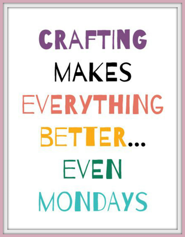 craft quote, craft inspirations, craft saying