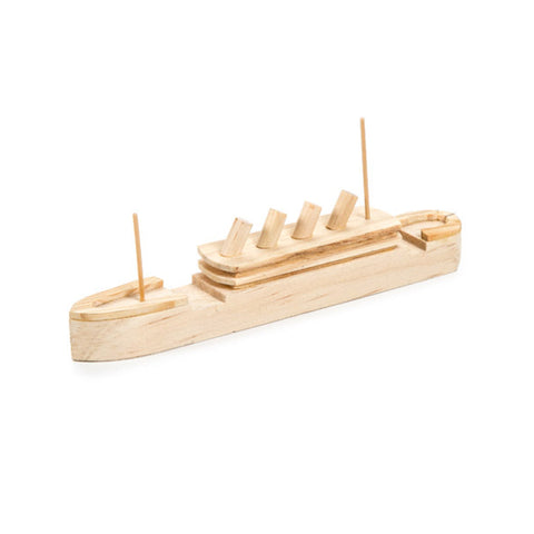titanic model, titanic gift, titanic craft, wood model kit, craft kit for boy, historical craft kit