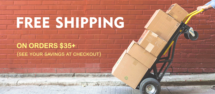 free shipping on orders $35+, craft supplies free shipping, free shipping craft kits, free shipping miniatures, free shipping party supplies