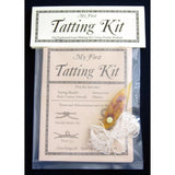 tatting kits, tatting craft kits, learn tatting, beginner tatting, lacemaking craft kit, lacemaking kits
