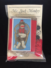 Mr. Sock Monkey Craft Kit (hft4707)