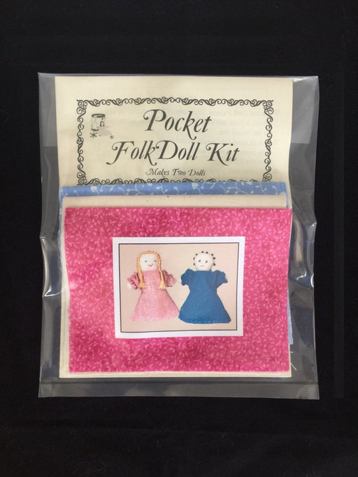 Pocket Folk Doll Craft Kit (hft4704)