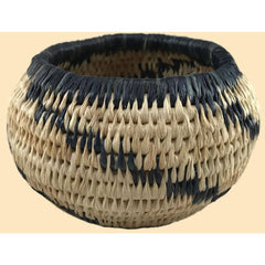 Traditional Coiled Basket Weaving Kit - makes one 3in. - 4in. Basket, Basic version (wckcoiledbasic)