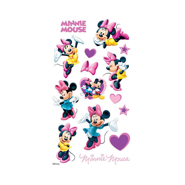 Disney Collection Flat Stickers - Minnie Mouse - 15 Pieces (darek5300020)