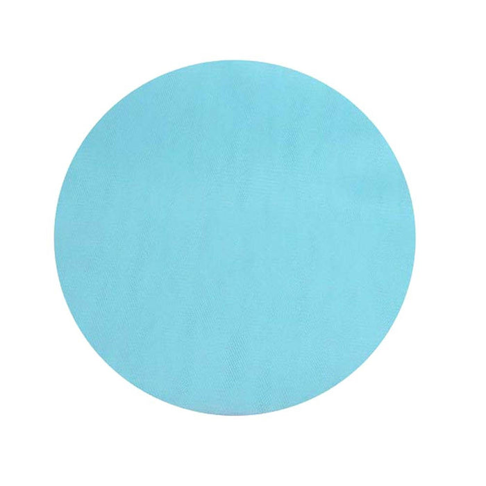 Tulle Circles - Light Blue - 9 Inch - Pack of 25 (gi9intulleltblue)