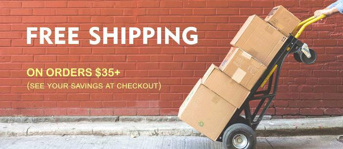 Free Shipping on Orders $35+ from Crafted Gift Company