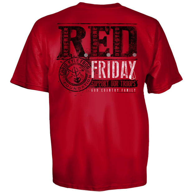 CKFF R.E.D. Friday T-Shirt T-shirt Chris Kyle Frog Store