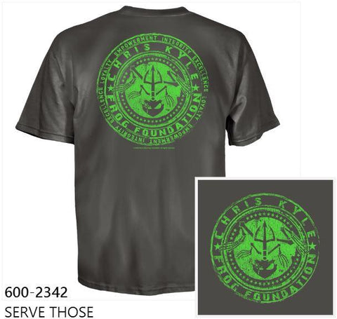 CKFF Serve Those T-Shirt - Military Green