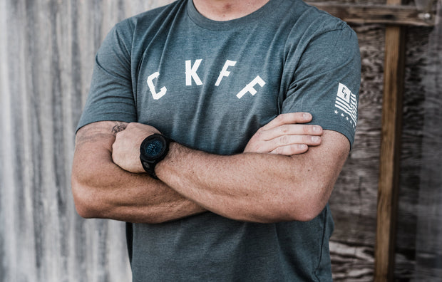 Men's CKFF Curved T-Shirt