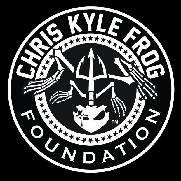 CKFF - White Die-Cut Window Decal - 6 ""