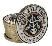 CKFF Full Color Challenge Coin Coin Chris Kyle Frog Store