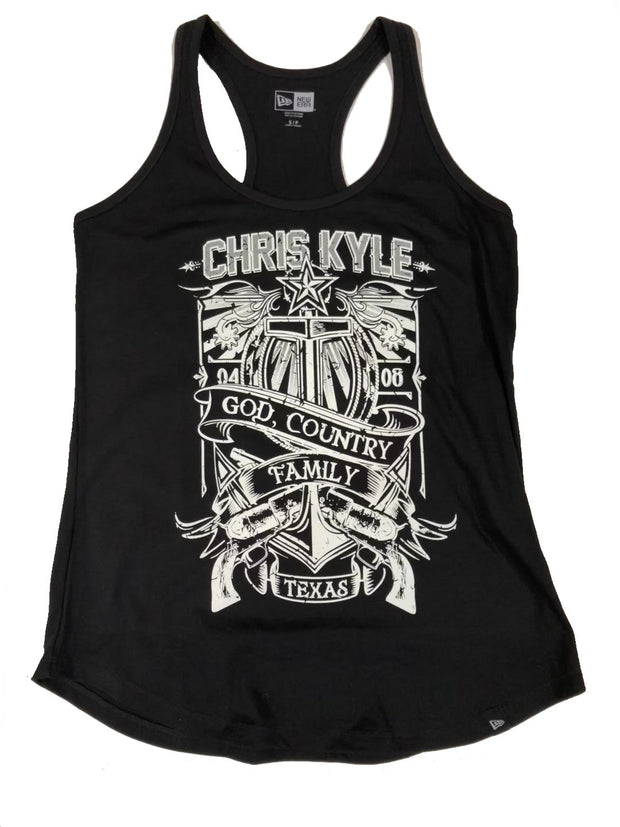 Chris Kyle Lone Star Summer Edition Women's Racer Back Tank Tank Top Chris Kyle Frog Store