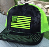 Mesh Kryptek Snap Back - Flag - Typhon/Yellow