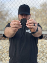 CKFF Challenge Coin - Black Coin Chris Kyle Frog Store