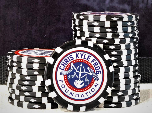 Poker Chip Chris Kyle Frog Store