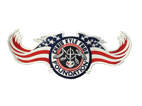CKFF - Embroidered Wing Patch - 12""