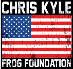 CKFF - Full Color Flag Decal Decal Chris Kyle Frog Store