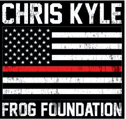 CKFF - Red Line Decal Decal Chris Kyle Frog Store