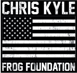 CKFF - Grey Scale Flag Decal Decal Chris Kyle Frog Store
