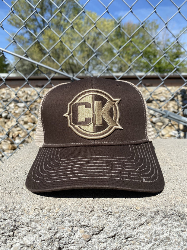 CK ICON SnapBack Hat - Brown/Tan Hat Chris Kyle Frog Store