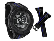 CKFF - Blue Line Flag Rockwell Watch Watch Chris Kyle Frog Store