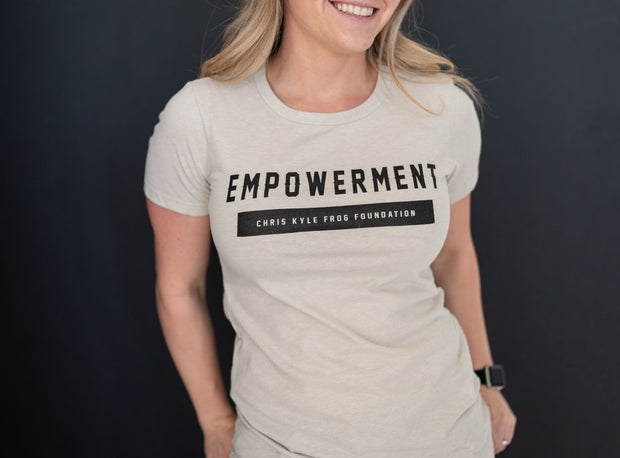 Empowerment Mission Collection Womens T-Shirt T-shirt Chris Kyle Frog Store