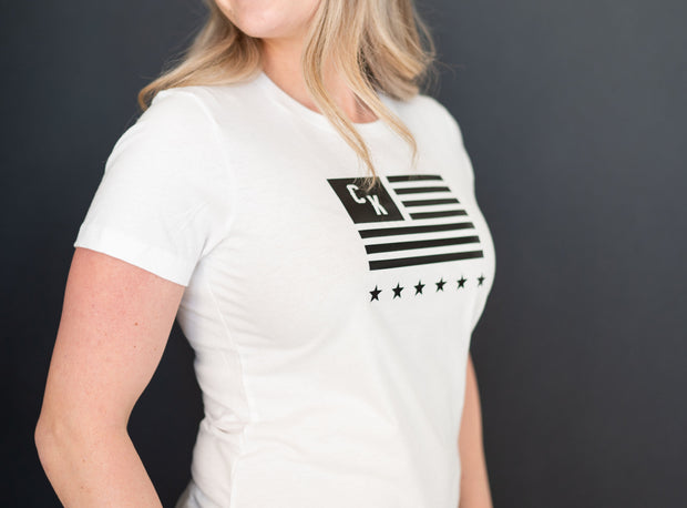 Women's CKFF CK Flag T-Shirt