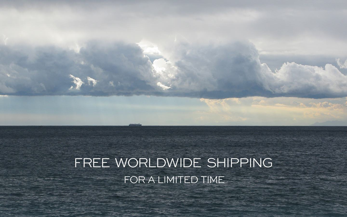 Free International Shipping via DHL