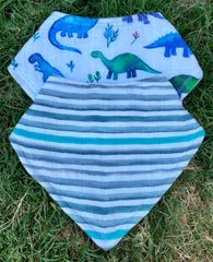 "The ""Dino"" Bib Set"