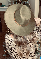 The Lajitas Hat - Olive