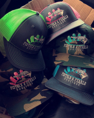 Pistols & Pearls Trucker Hat