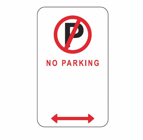 ACT ONLY No Parking ACTR5-40 Road Sign