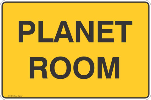 Biosecurity Planet Room  Safety Signs and Stickers