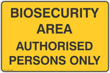 Authorised Persons Only Safety Signs & Stickers