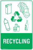Recycling Signs and Stickers