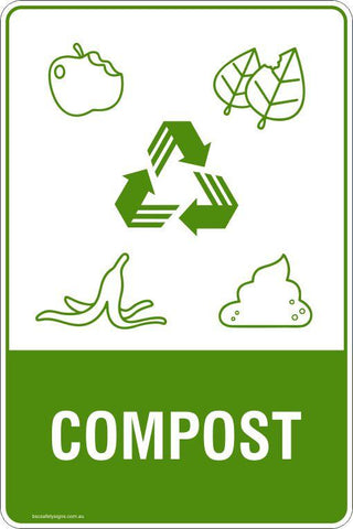 Compost Signs and Stickers