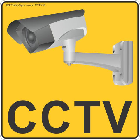 CCTV Security Camera Stickers