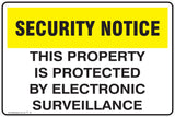 CCTV Safety This Property is protected by Electronic surveillance Safety Signs and Stickers