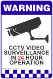 15 Pack of CCTV Signs