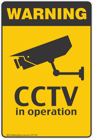 [Bulk Order] 50 x CCTV In Operation Safety Stickers