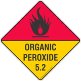 Organic Peroxide 5.2 Safety Signs & Stickers & Placards