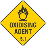 Oxidising Agent 5.1 Safety Signs, Stickers & Placards