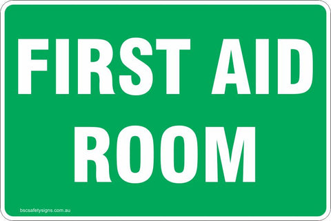 Information First Aid Room Safety Signs and Stickers