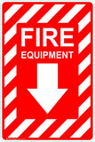 This Fire Extinguisher - Fire Equipment Safety Signs and Stickers